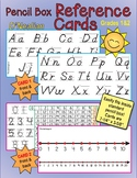 D'Nealian Pencil Box Reference Cards with Wonders High Fre