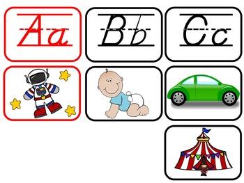 D'Nealian Spanish Alphabet Charts {All Letter Sounds!}