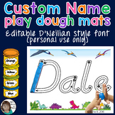 D'Neilian Playdough Mats Name Activity - EDITABLE