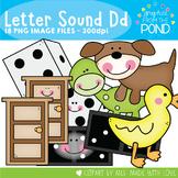 Alphabet Clipart - Letter D