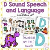 D Sound Speech and Language Curriculum