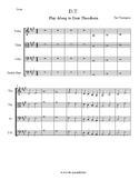 """D.T. - String Play Along to Dear Theodosia from """"Hamilton"""""""