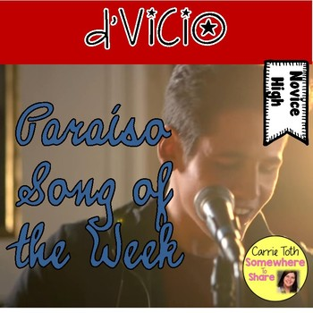 D'Vicio Paraiso Song of the Week