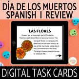 Día de los Muertos Activity  and Spanish 1 Review Boom Cards