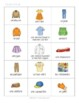 D'accord 1 6B: Clothing and Colors Bingo