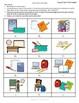 D'accord 1 Unité 1 (1B): School supplies partner matching game