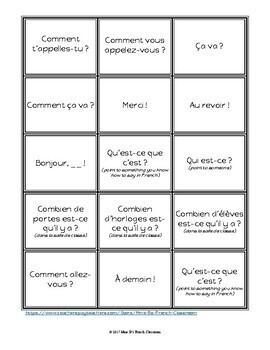 D'accord 1 Unité 1: Quiz-Quiz-Trade: a whole class speaking activity