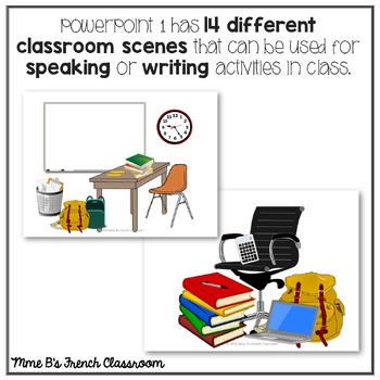 D'accord 1 Unité 1B: Combien de? with classroom vocabulary
