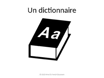 D'accord 1 Unité 1B: Vocabulaire: en classe