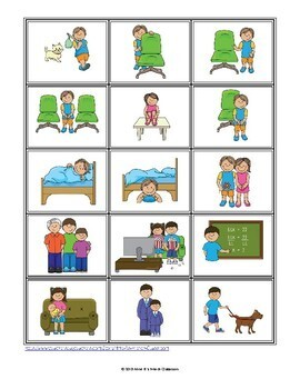 D'accord 1 Unité 3 (3B): Multi-game card set: Prepositions of location