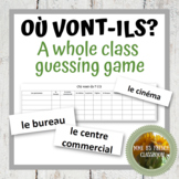 D'accord 1 Unité 4 (4A): Où vont-ils? A whole class speaking game