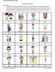 D'accord 1 Unité 6 (6B): Clothing vocabulary partner matching game