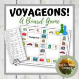 D'accord 1 Unité 7: Voyageons!  A board game to practice travel vocabulary