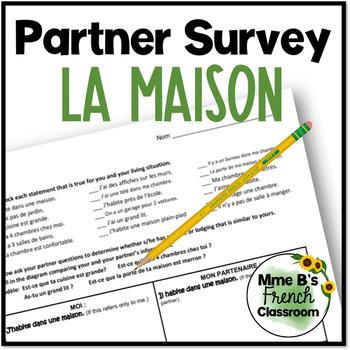 D'accord 1 Unité 8 (8A): La maison partner survey
