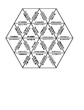 D'accord 3 Leçon 2: Reflexive verb puzzle