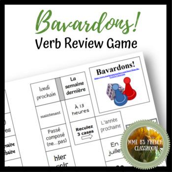 D'accord 2 Reprise: Bavardons!  Verb review game