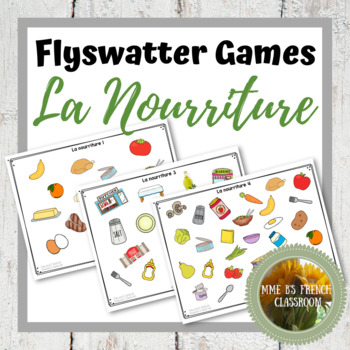 D'accord 2 Unité 1: La nourriture flyswatter game