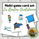 D'accord 2 Unité 2 (2A): Multi-game card set: La routine quotidienne