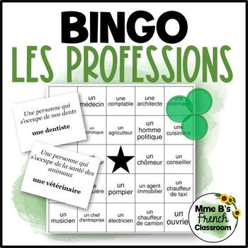 D'accord 2 Unité 5 (5B): Bingo: les professions