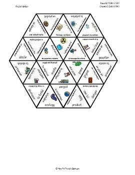 D'accord 2 Unité 6 (6A) Vocabulary Puzzle: Sauvons la planète!