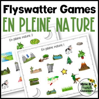 D'accord 2 Unité 6 (6B): flyswatter game: En pleine nature