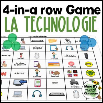 D'accord 2 Unité 3 (3A) La technologie 4-In-A-Row Game