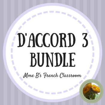 D'accord 3 GROWING Bundle