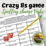 D'accord 3 Leçon 1: Crazy 8s Game for reviewing spelling c