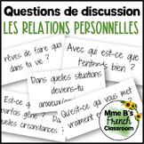 D'accord 3 Leçon 1 Discussion Questions: Les relations per