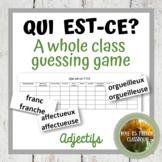 D'accord 3 Leçon 1: Qui est-ce? A speaking game using chap
