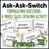 D'accord 3 Leçon 1: Quiz-Quiz-Trade: a whole class speakin