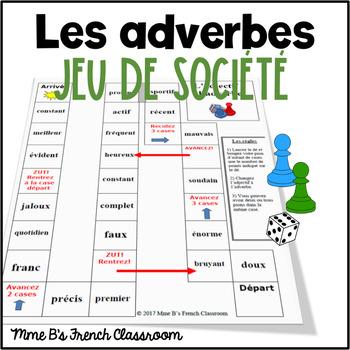 D'accord 3 Leçon 2: Adverb Board Game