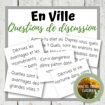 D'accord 3 Leçon 2 Questions de Discussion: vocabulaire