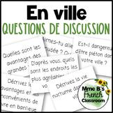 """D'accord 3 Leçon 2 Questions de Discussion: vocabulaire """"en ville"""""""