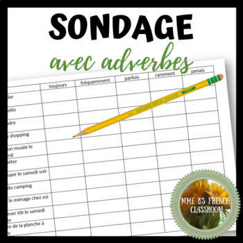 D'accord 3 Leçon 2: Sondage avec adverbes