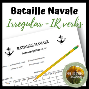 D'accord 3 Leçon 4: French Battleship with Irregular -ir verbs