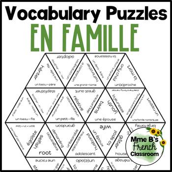 D'accord 3 Leçon 6: Vocabulary puzzle