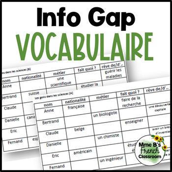 D'accord 3 Leçon 7: Info Gap with vocabulary