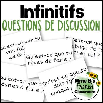 D'accord 3 Leçon 8: Questions de discussion avec les infinitifs