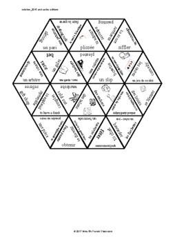 D'accord 3 Leçon 8: Vocabulary puzzle