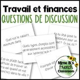 D'accord 3 Leçon 9 Questions de discussion: Le travail et les finances