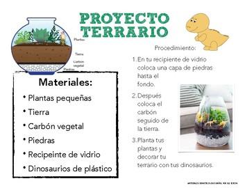 D de Dinosaurio Letter D in Spanish Letra D En Español