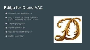 D for AAC
