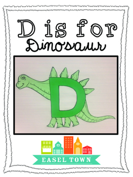 Letter of the Week D is for Dinosaur Craft
