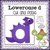 Letter D Craft {Dinosaur}