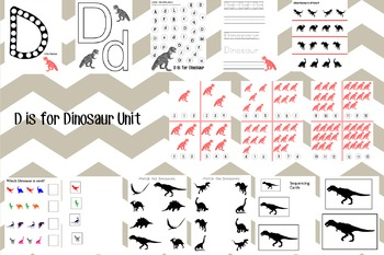 D is for Dinosaur Unit