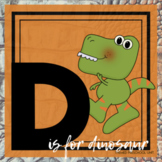 D is for Dinosaurs Themed Unit-Preschool Lesson Plans and Activities (one week)