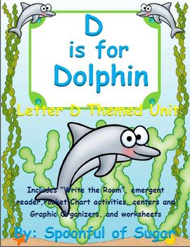 D is for Dolphin (Letter D Unit)
