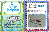 D is for Dolphin/D Like in Dragonfly (2 Complete Letter D Units)