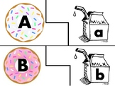 D is for Donuts ABC Match